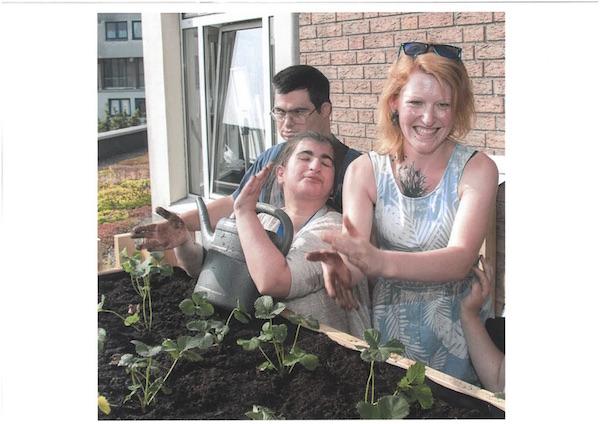 GärtnerInnen des Gartenprojekts