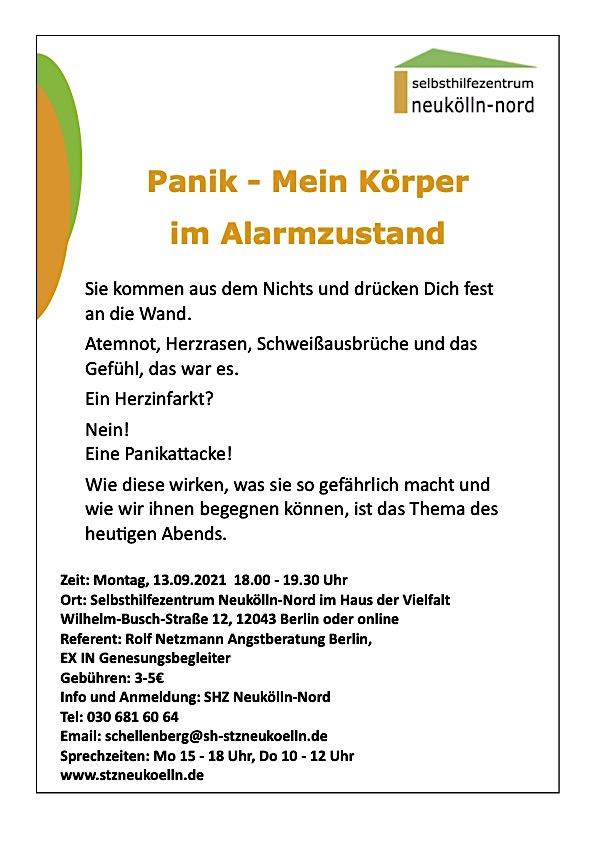 Plakat für eine Veranstaltung